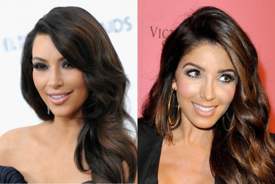 Kim Kardashian, à gauche, et Melissa Molinaro, à... (Photo: AP et Google Images)