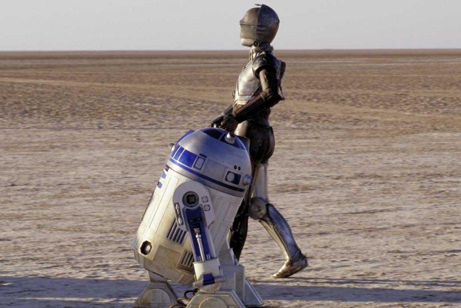 Les deux célèbres robots R2D2 et C-3PO.... (Photo Lucasfilm)