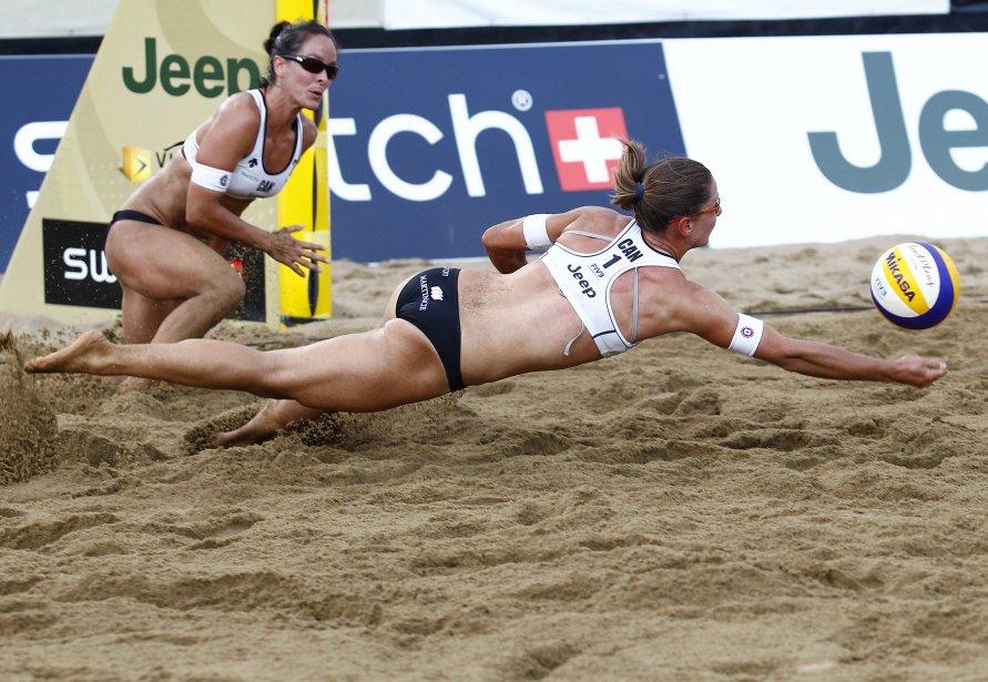 Québec Open de volleyball de plage | 22 juillet 2011