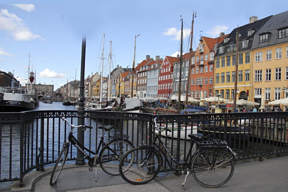 Copenhague, au Danemark.... (Photo François Roy, La Presse)
