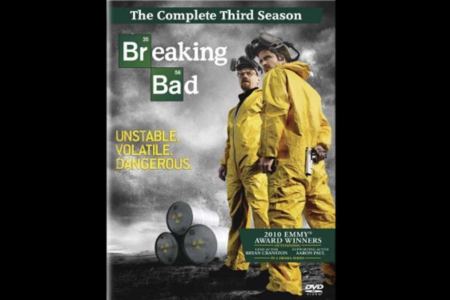 Le boîtier de la troisième saison de Breaking Bad (13 épisodes en...