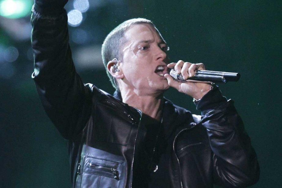 Eminem... (Photo Reuters)
