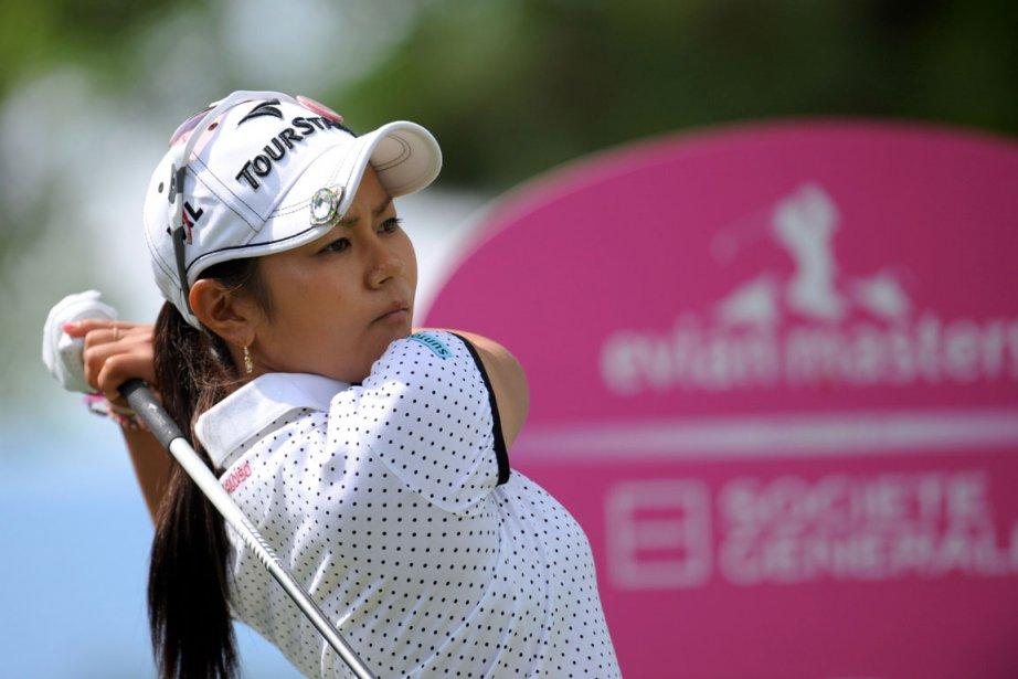 Miyazato a fini au sixième rang lors de... (Photo: AFP)