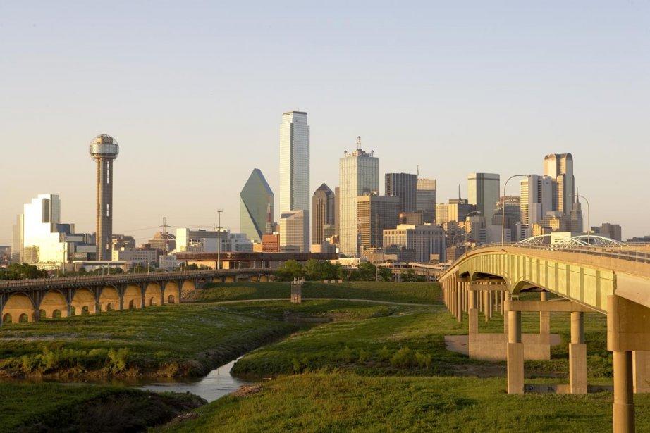 La skyline de Dallas.... (Photo Dana Hoff, Corbis)