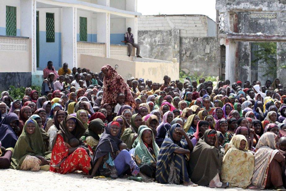 40 000 personnes sont réfugiées à Mogadiscio, fuyant... (Photo: Omar Faruk, Reuters)