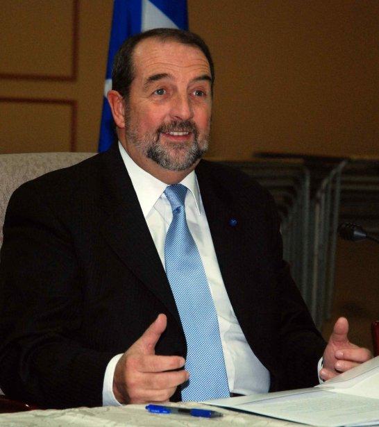 Le ministre des Transports, de l'Infrastructure et des... (Archives Le Quotidien)