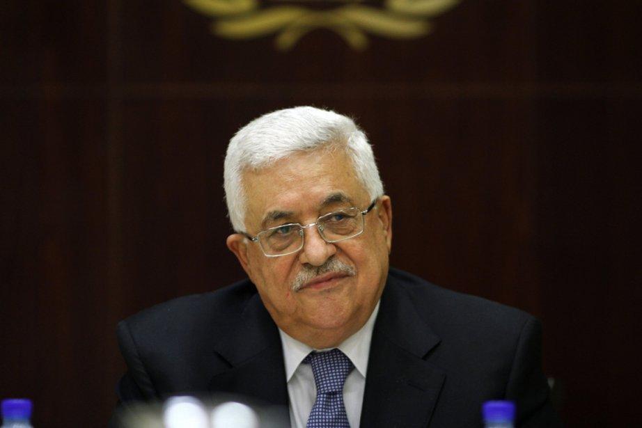 Le président palestinien Mahmoud Abbas a affirmé samedi... (Photo: Mohamad Torokman, AFP)
