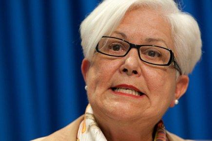 La chef de Vision Montréal, Louise Harel.... (Photo: Hugo-Sebastien Aubert, La Presse)