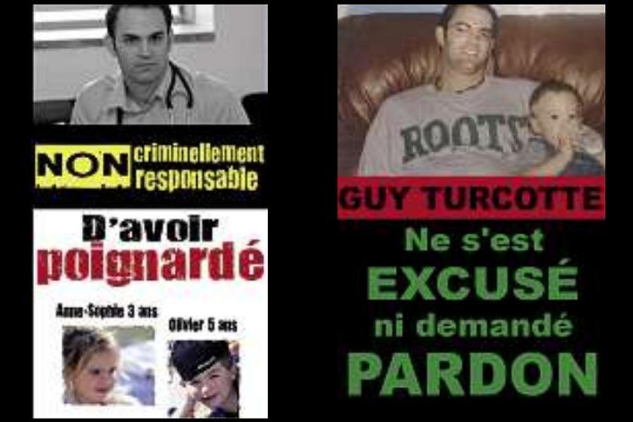 Tire-toi une balle Guy Turcotte (65... (Photos tirées de la page Facebook Contre le verdict de procès de Guy Turcotte)