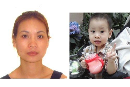 Bich Hanh Hoang et son fils de deux... (Photo fournie par le Service de police de Laval)