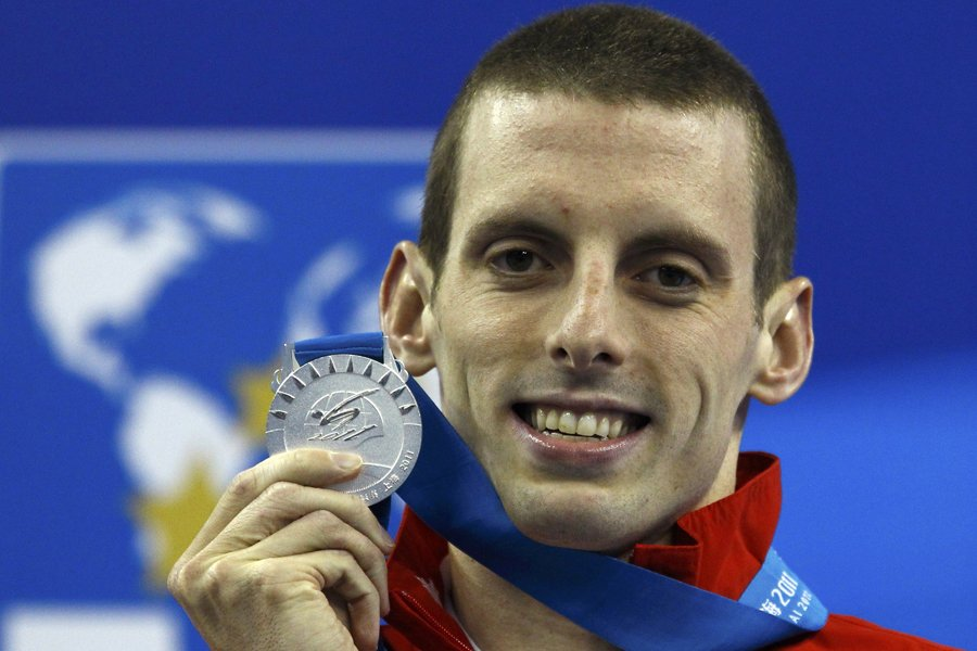 Ryan Cochrane... (Photo: Reuters)