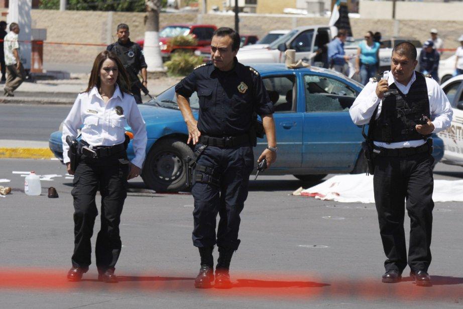 Le chef de la police de Ciudad Juárez,... (Photo: Reuters)