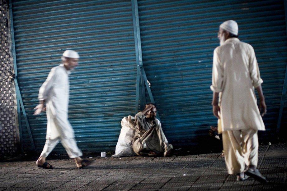 Selon les médias locaux, plus de 200 personnes... (Photo: Behrouz Mehri, AFP)
