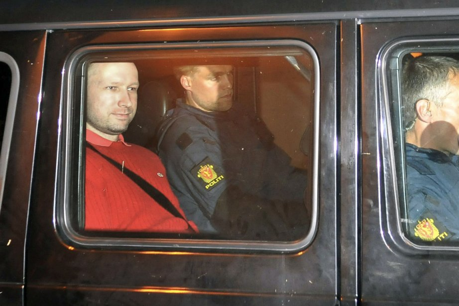 Actuellement, Anders Behring Breivik (que l'on voit ici... (Photo: Jon-Are Berg-Jacobsen, AFP)