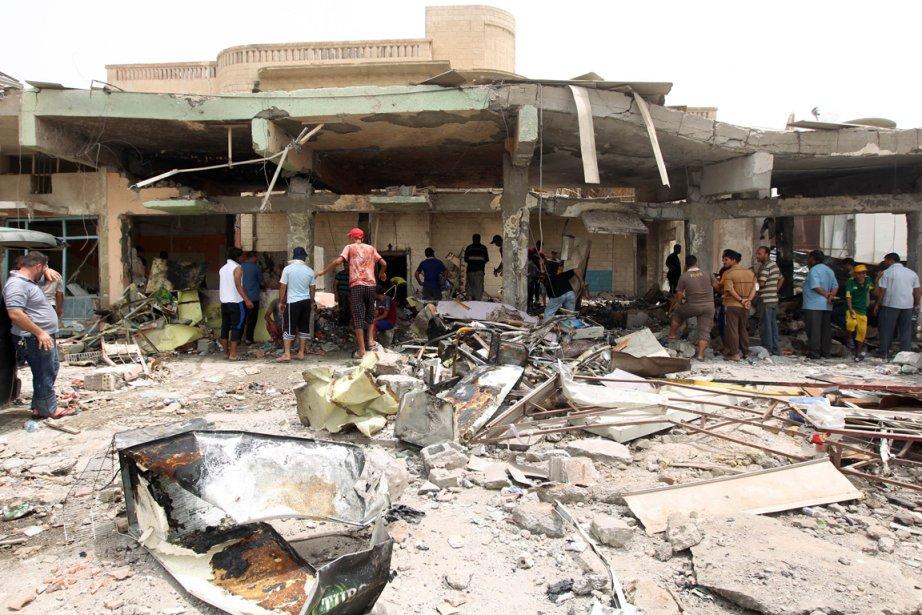 Dans le nord de Bagdad, onze débits de... (Photo: Ahmad Al-Rubaye, AFP)