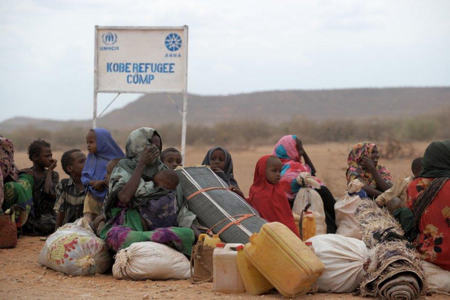 La sécheresse qui sévit actuellement dans la Corne... (Photo: Roberto Schmidt, AFP)