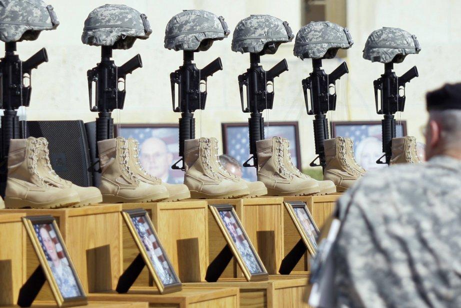 Le 5 novembre 2009, un psychiatre de l'armée... (Photo: Donna McWilliam, Archives AP)