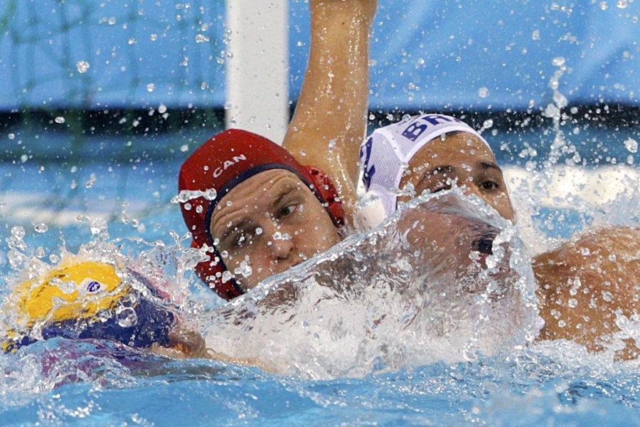 Le gardien de l'équipe canadienne de water-polo, Robin... (Photo: archives Reuters)