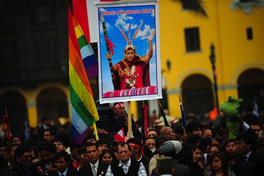 Le nouveau président du Pérou, Ollanta Humala, a promis dans son  discours...