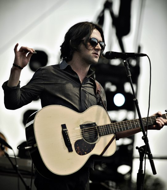 Spectacle de Bright Eyes avec Conor Oberst. | 30 juillet 2011