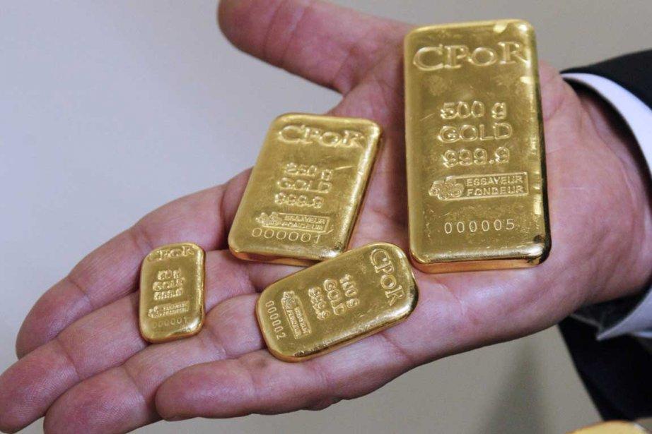 Pour les vendeurs d'or sur eBay, la plus récente période... (Photo AFP)