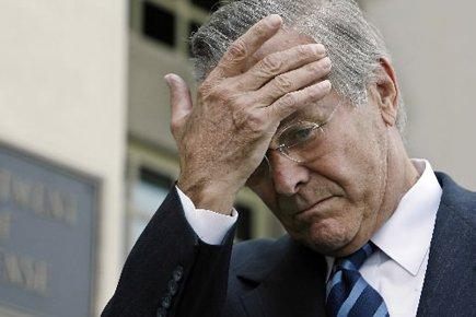 Donald Rumsfeld... (Photo: AFP)