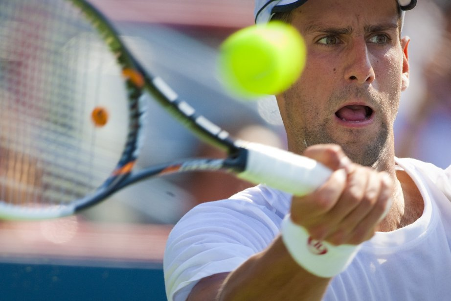 Novak Djokovic... (Photo: André Pichette, La Presse)