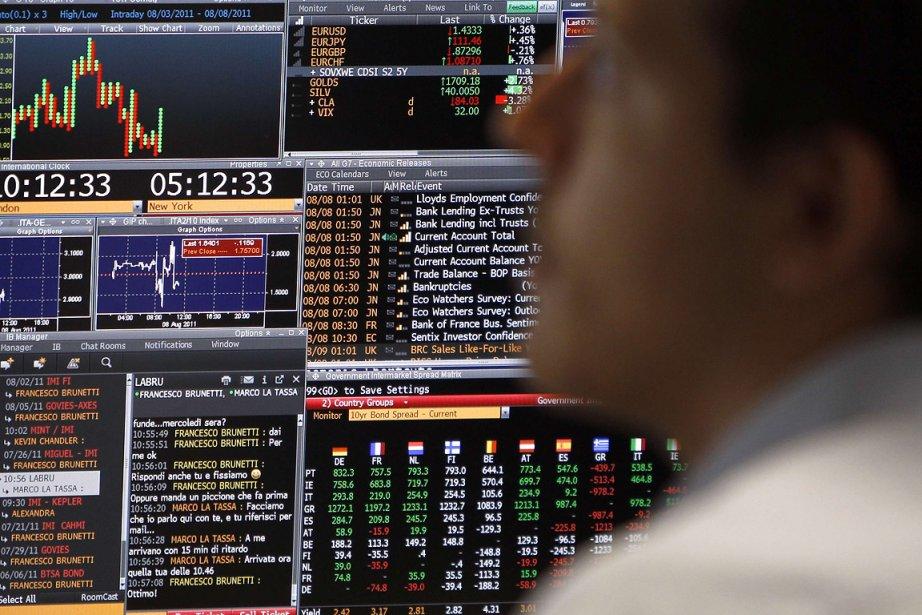 Après un net rebond général mardi, la Bourse... (Photo: Reuters)