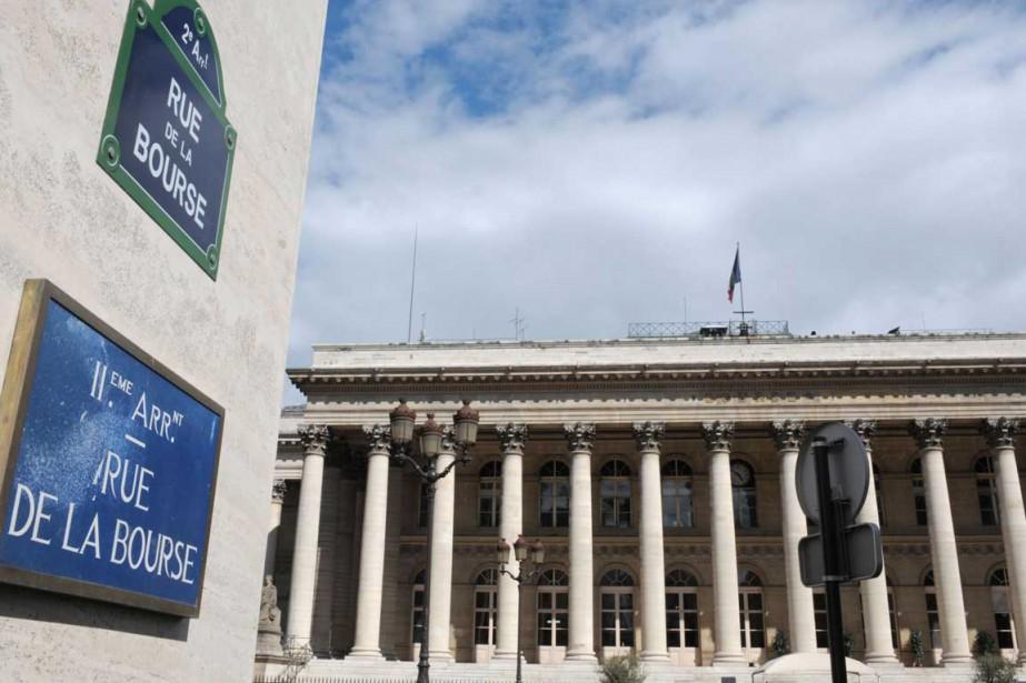 Le parquet de la Bourse de Paris.... (Photo AFP)