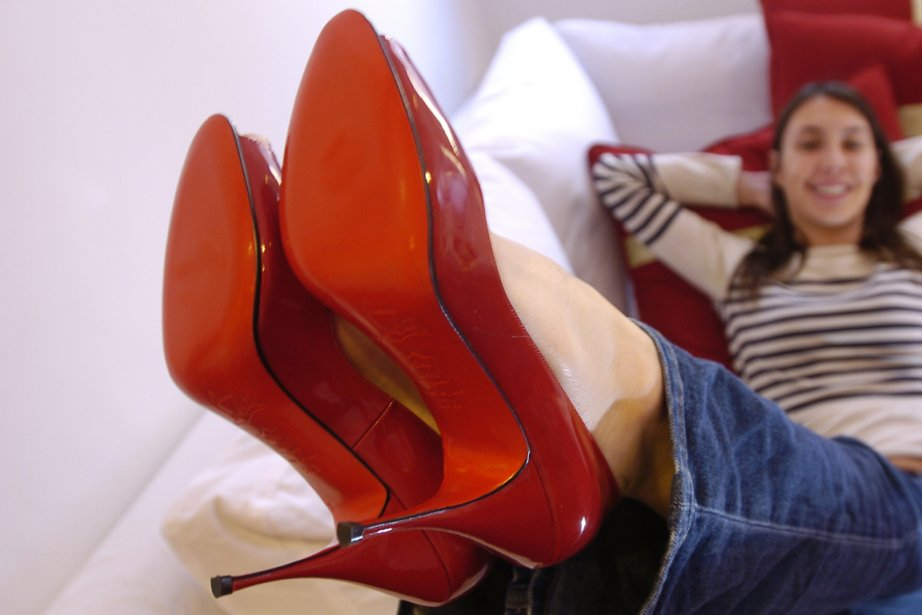 Des souliers rouges de Christian Louboutin... (Photo: archives La Presse)