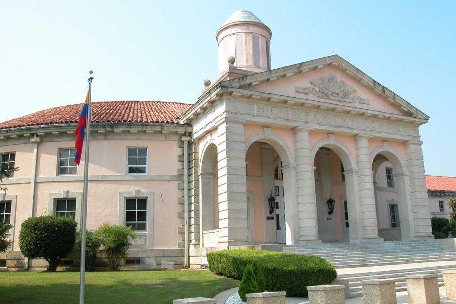 L'École des Amériques, de triste réputation, située dans... (Photo d'archives, La Presse)