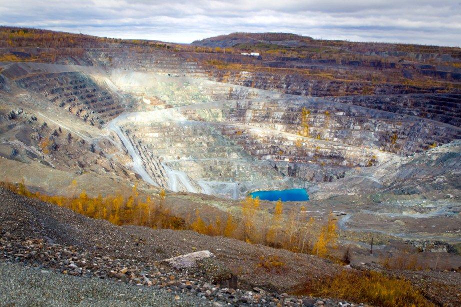 La mine d'amiante Jeffrey d'Asbestos.... (Photothèque Le Soleil)