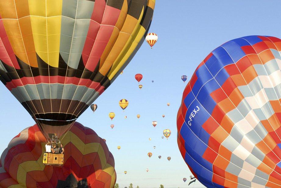 L'International de montgolfières de Saint-Jean-sur-Richelieu.... (Photo: Stéphanie Lachance)