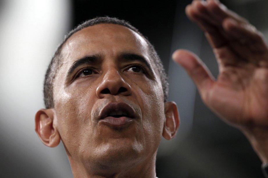 Barack Obama, président des États-Unis.... (Photo: AP)
