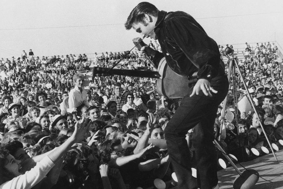 Elvis Presley... (Photo: Sony Music)