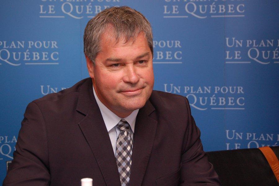 Le ministre de la Santé, Yves Bolduc.... (Photo: Louis Potvin, Le Quotidien)