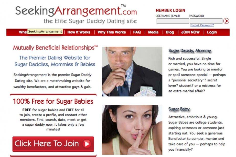 La part du charme, de l'inattendu, de l'improbabilité,... (Image tirée du site Seekingarrangement.com)