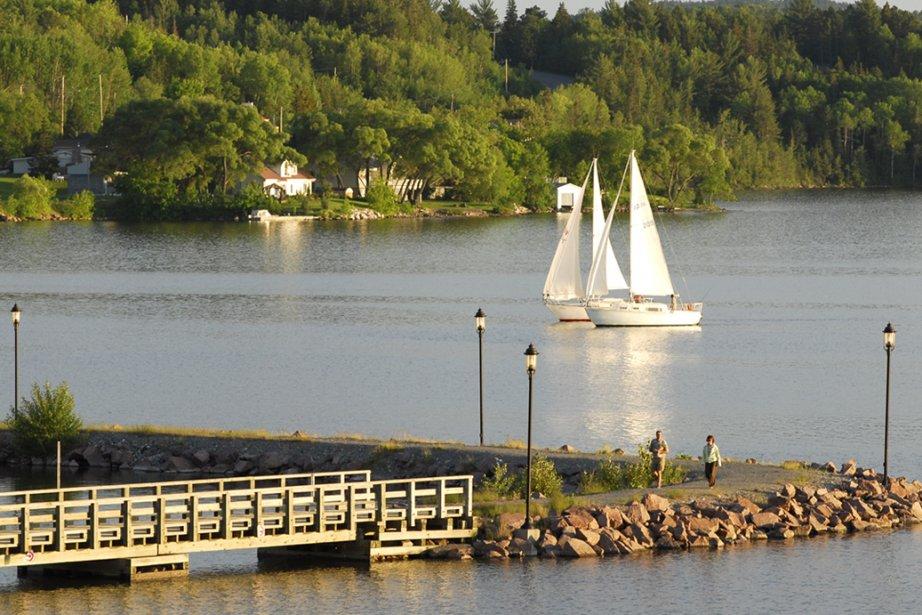 Renflement de la rivière des Outaouais, le lac... (Photo: fournie par Tourisme Abitibi-Témiscamingue)