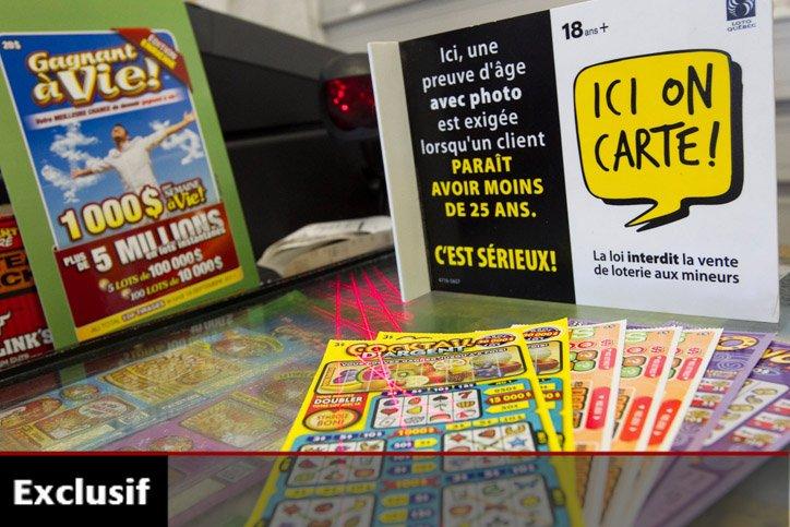 La campagne «Ici on carte» lancée par Loto-Québec... (Photo: Hugo-Sebastien Aubert, La Presse)