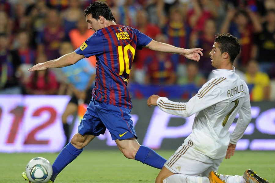 Lionel Messi, du FC Barcelone, a supplanté Cristiano... (Photo: AFP)
