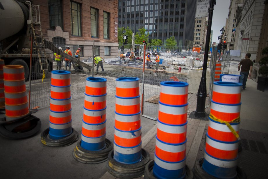 L'Association des constructeurs de routes et grands travaux... (Photo André Pichette, La Presse)