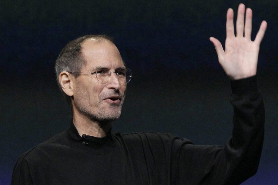 Steve Jobs... (Photo Associated Presse)