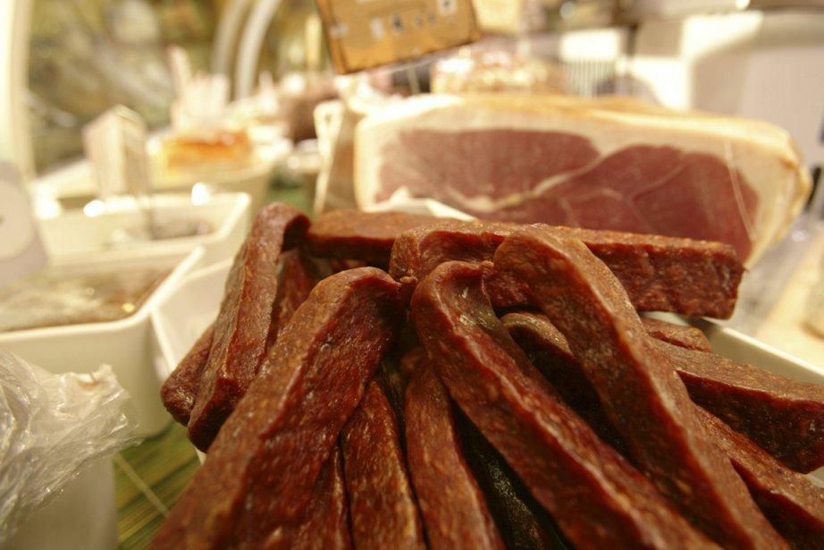L'industrie de la viande, qui... (Photo: André Tremblay, Archives La Presse)