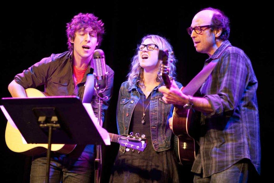 Le trio formé par Patrice Michaud, Stéphanie Boulay... (Photo: André Pichette, La Presse)
