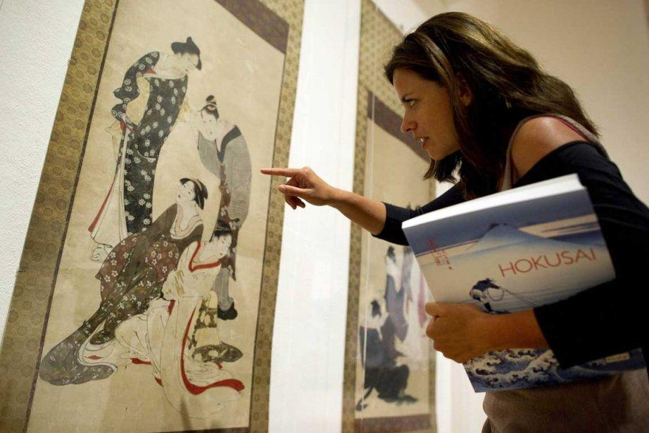 L'oeuvre Women in different walks of life de... (Photo: AFP)