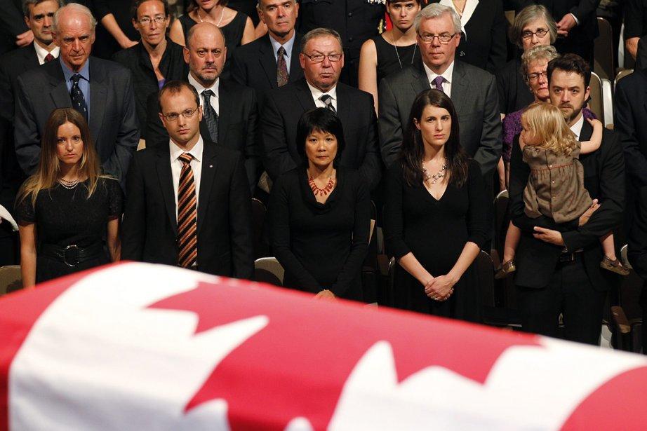 Des funérailles nationales ont été tenues à Toronto... (PC)