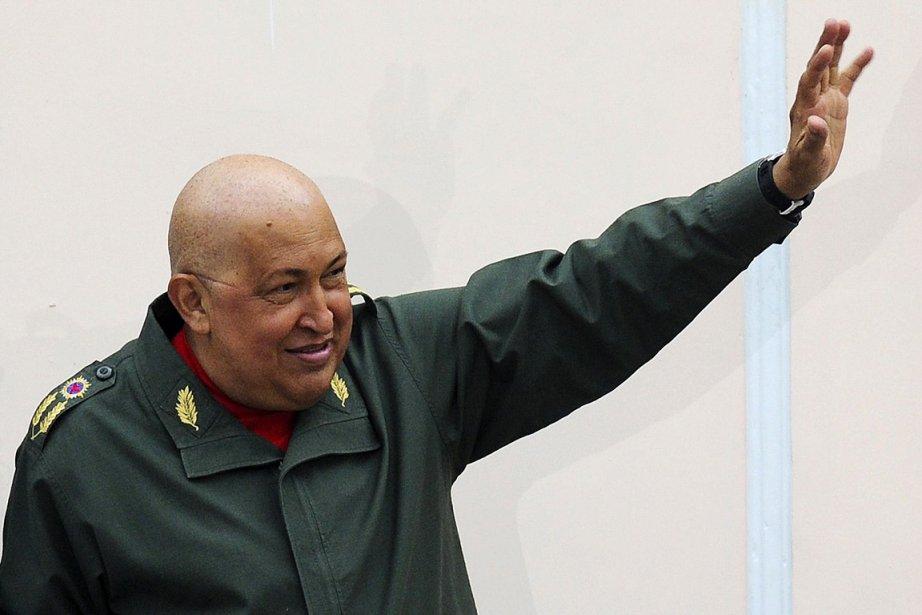 Hugo Chavez, photographié le 27 août.... (Photo: AFP)