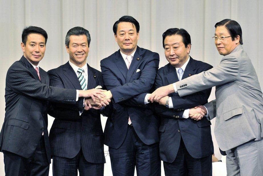 Cinq candidats sont en lice pour succéder au... (Photo: AFP)