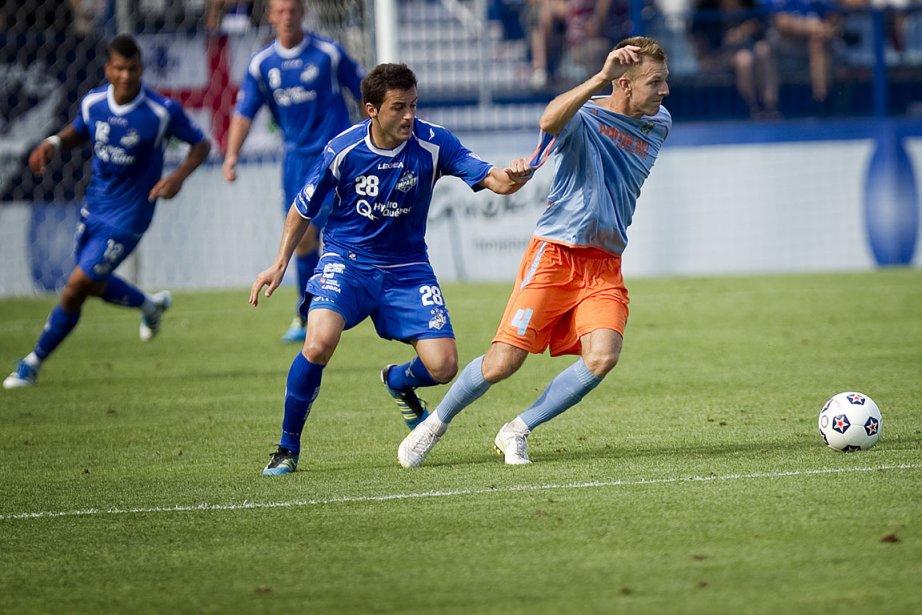 Sinisa Ubiparipovic, lors du match Stars-Impact du 20... (Photo: Marco Campanozzi, La Presse)