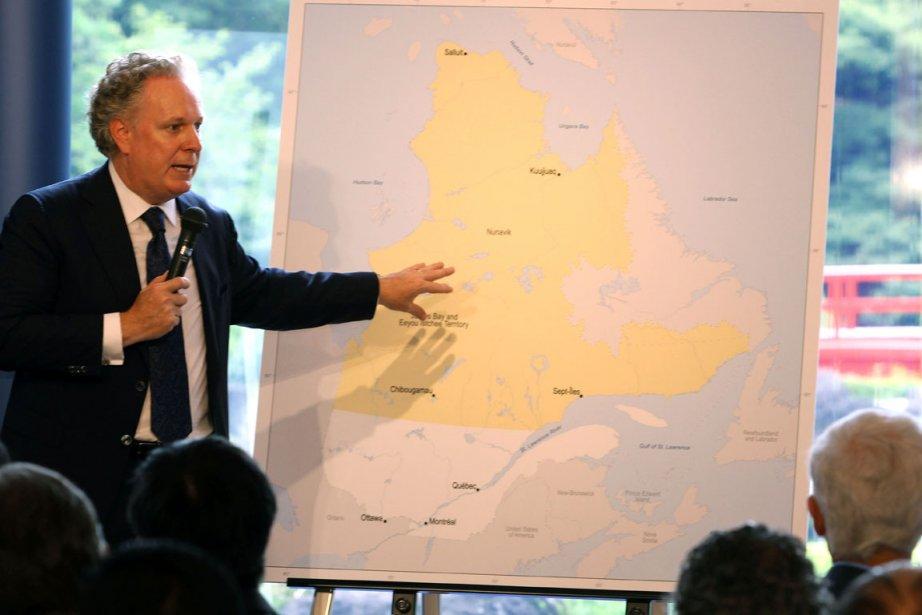 Le premier ministre a entrepris sa troisième mission... (Photo fournie par le gouvernement du Québec)